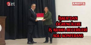 İŞKUR'DAN ÖĞRENCİLERE İŞ ARAMA BECERİLERİ ADLI KONFERANS