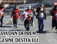 AMASYA'DAN DEPREM BÖLGESİNE DESTEK ELİ