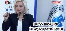 EKPSS BAŞVURU KILAVUZU YAYIMLANDI