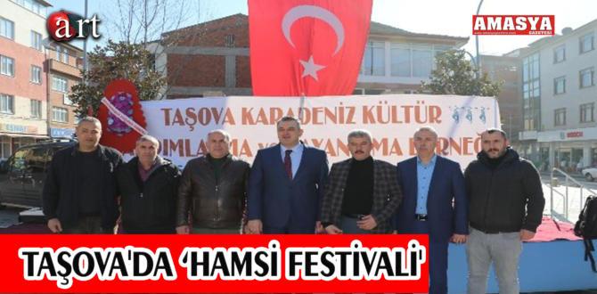 TAŞOVA'DA 'HAMSİ FESTİVALİ'