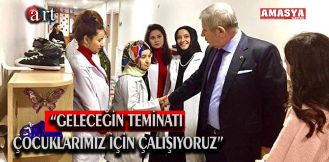 """""""GELECEĞİN TEMİNATI ÇOCUKLARIMIZ İÇİN ÇALIŞIYORUZ"""""""