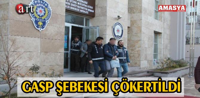 GASP ŞEBEKESİ ÇÖKERTİLDİ