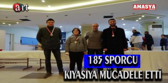 185 SPORCU KIYASIYA MÜCADELE ETTİ