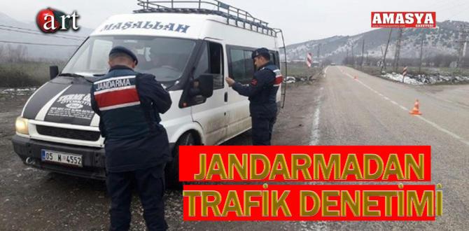 JANDARMADAN TRAFİK DENETİMİ