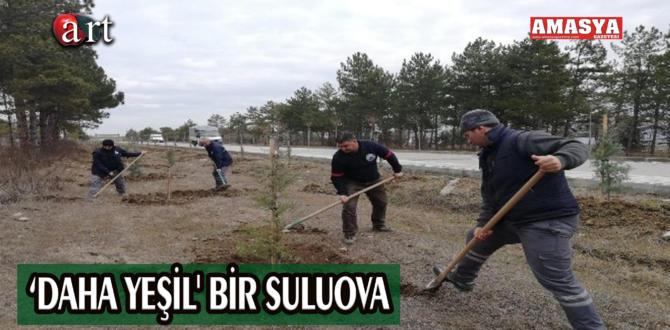 'DAHA YEŞİL' BİR SULUOVA