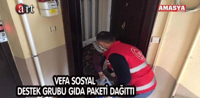 VEFA SOSYAL DESTEK GRUBU GIDA PAKETİ DAĞITTI
