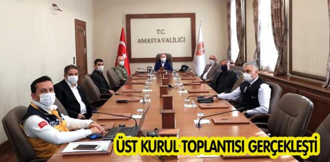 ÜST KURUL TOPLANTISI GERÇEKLEŞTİ