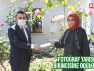 FOTOĞRAF YARIŞMASI BİRİNCİSİNE ÖDÜL TAKDİMİ