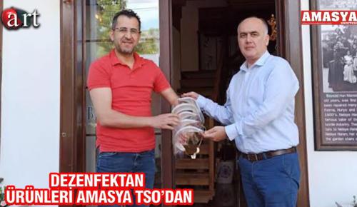 DEZENFEKTAN ÜRÜNLERİ AMASYA TSO'DAN