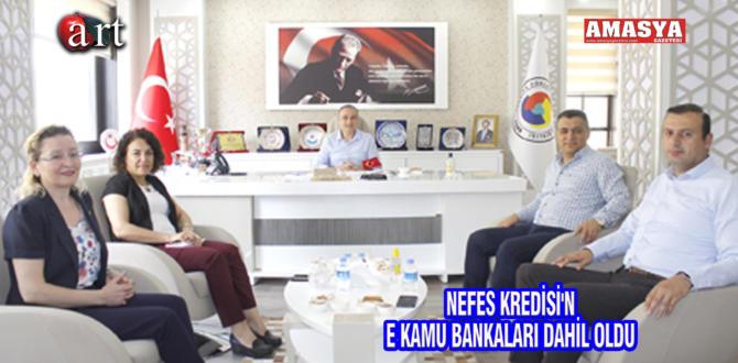NEFES KREDİSİ'NE KAMU BANKALARI DAHİL OLDU
