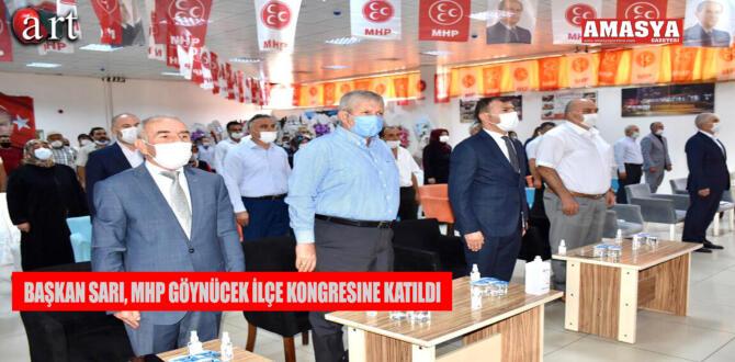 Başkan Sarı, MHP Göynücek İlçe Kongresine Katıldı