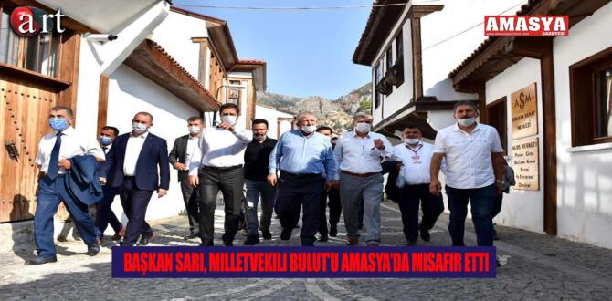 Başkan Sarı, Milletvekili Bulut'u Amasya'da Misafir Etti