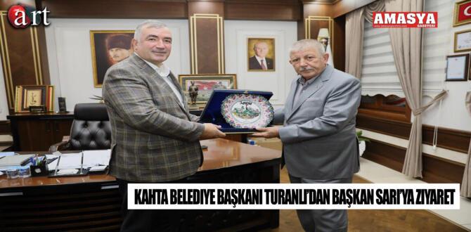 Kahta Belediye Başkanı Turanlı'dan Başkan Sarı'ya Ziyaret