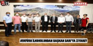 Atatürk İlkokulundan Başkan Sarı'ya Ziyaret