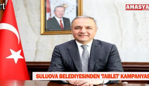 Suluova Belediyesinden 'tablet' Kampanyası