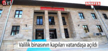 Valilik binasının kapıları vatandaşa açıldı