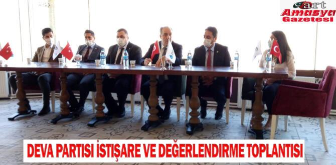 Deva Partisi İstişare ve Değerlendirme Toplantısı