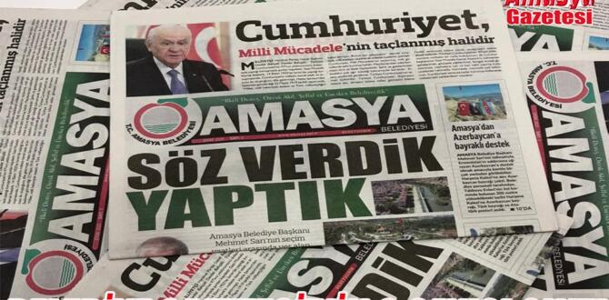 Amasya Belediye Gazetesinin 9. Sayısı çıktı.