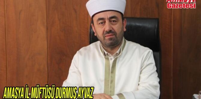 Amasya İl Müftüsü Durmuş Ayvaz  29 Ekim Cumhuriyet Bayramı kutlu olsun dedi.