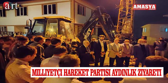 Milliyetçi Hareket Partisi Aydınlık Ziyareti