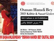 """İletişim Başkanlığından """"Osman Hamdi Bey Dijital Sergisi"""""""