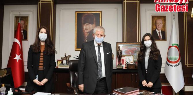 LÖSEV Samsun şubesinden Başkan Sarı'ya ziyaret