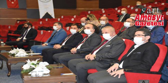 Yeşilırmak Havzası Amasya'da toplandı