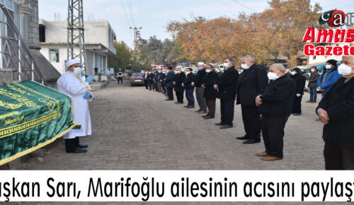 Başkan Sarı, Marifoğlu ailesinin acısını paylaştı