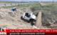 Tüp tankı patlayan araç alev aldı o anlar güvenlik kamerasına yansıdı