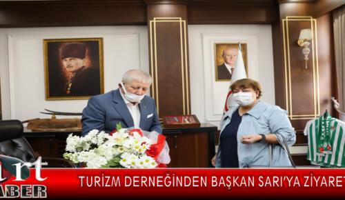 Turizm derneğinden Başkan Sarı'ya ziyaret