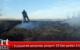 Suluova'da samanlık yangını: 20 ton saman kül oldu