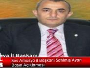 Ses Amasya il Başkanı Satılmış Ayan Basın Açıklaması