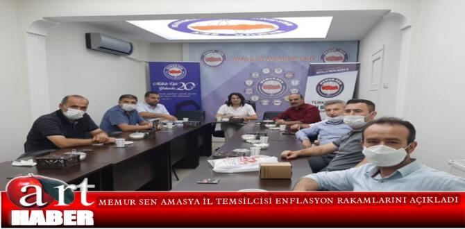 MEMUR SEN AMASYA İL TEMSİLCİSİ ENFLASYON RAKAMLARINI AÇIKLADI