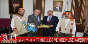 Amasya Belediye Başkanı Mehmet Sarı, Ahilik Haftası nedeniyle bir kutlama mesajı yayımladı.