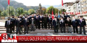 19 Eylül Gaziler Günü çeşitli programlarla kutlandı