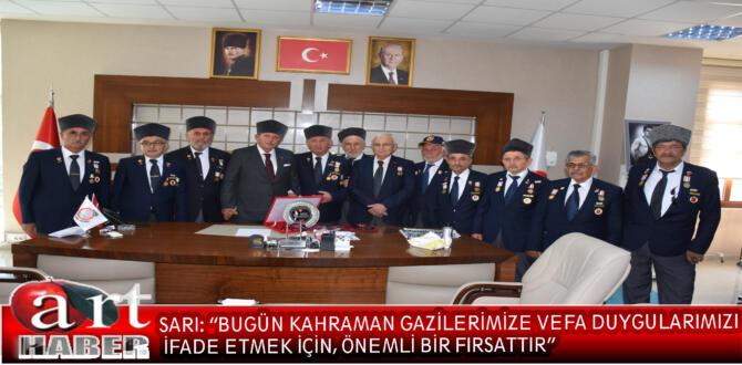 Amasya Belediye Başkanı Mehmet Sarı, 19 Eylül Gaziler Günü nedeniyle bir kutlama mesajı yayımladı.