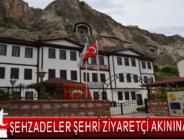 Şehzadeler Şehri Amasya tarihi ve kültürel yapısıyla ziyaretçi akınına uğruyor.