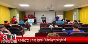 Amasya'da Umke Temel Eğitimi gerçekleştirildi.